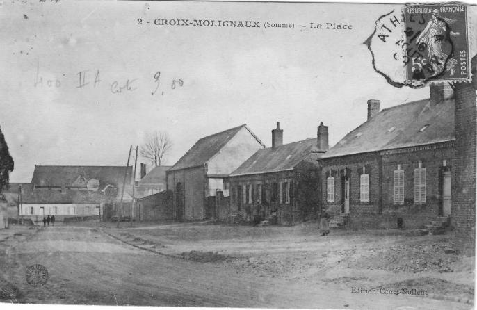 Croix Moligneaux La Place NB
