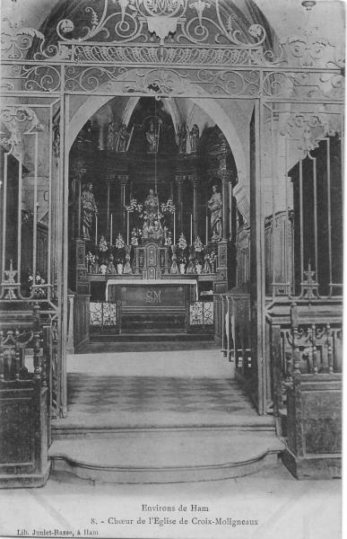 Croix Moligneaux-Le Coeur de l'Eglise