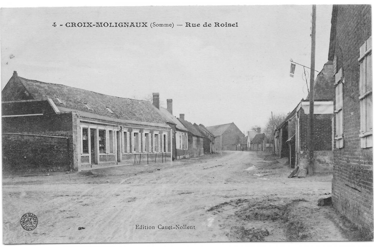 Croix Moligneaux Rue de Roisel