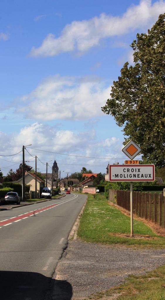 Entrée Sud Croix Moligneaux